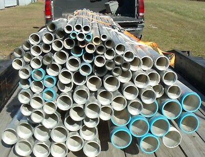 Aluminum Ridged electrical conduit various sizes sold in one lot per pound