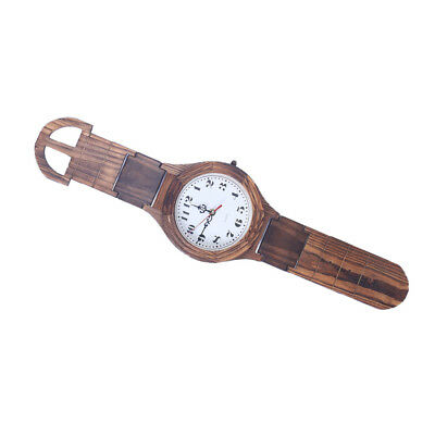 Antique Wooden Watch Wall Clock Decorative Wood Wall Clock Home Collection_L