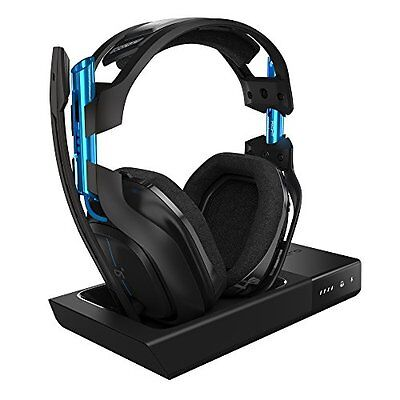 ASTRO Accessories Gaming A50 Wireless Dolby Headset - Black/Blue PlayStation 4 +