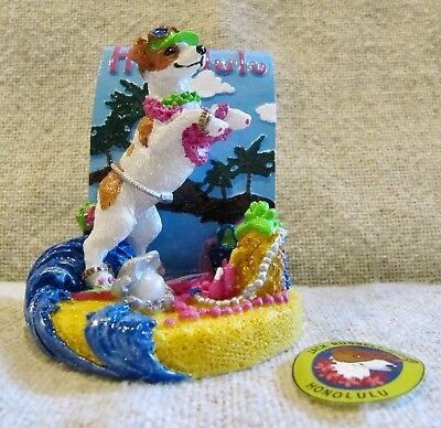 Claire's Jack Russell Terrier - Uniquely Depicts City Of Honolulu- - 2002 - New