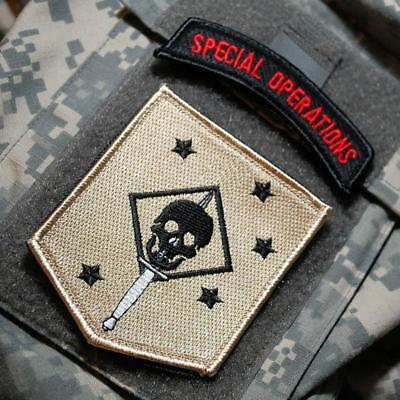 2017 USMC Commando Tactical Morale Patch MARINE RAIDERS Military Combat Badge Em