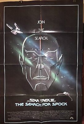 STAR TREK III - THE SEARCH FOR SPOCK - Original Movie Poster (1984) - NSS 840047