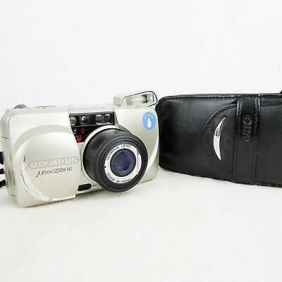 Olympus Mju Zoom 140 35Mm Film Camera All Weather Version 38-140Mm Lens Silver