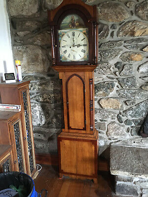 Antique 19th Century Grandfather Longcase Clock