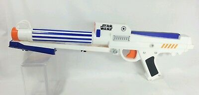 Star Wars CLONE TROOPER NERF Dart Gun Blaster Rifle Light Hasbro 2006