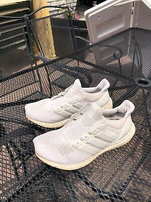 1e67dd591ce0b ADIDAS ULTRA BOOST 1.0 Triple White White Yeezy size 12 WITH BOX ...