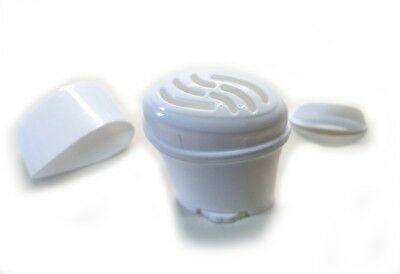 Empty Gel Deodorant Containers - BPA Free Plastic, Twist-up, Top-Fill, Top-slots
