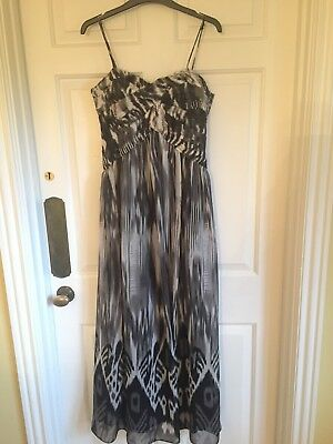 differently fast delivery famous brand WHITE HOUSE BLACK market dress 12 White - $29.00   PicClick