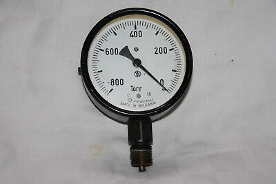 Manometer Betriebsmanometer 800 Torr , D 100mm, Made in Bulgaria Druckmanometer