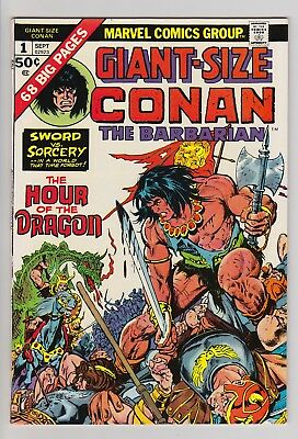 Giant-Size Conan The Barbarian 1, 2, 3, 4 5 (1974-1975) The Hour of the Dragon