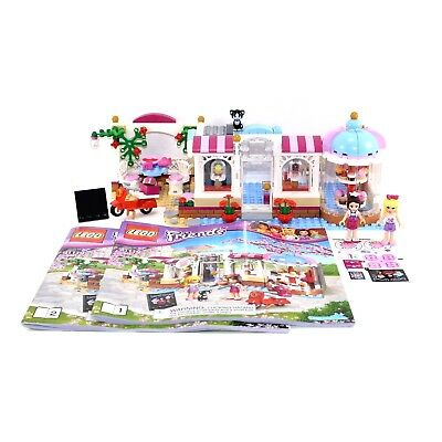 Lego Friends Heartlake Cupcake Cafe Set 41119 Complete With