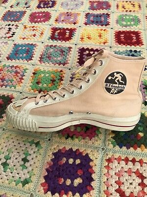 Vintage BF Goodrich PF Flyers Shoes Size 9 Made In USA 50's 60's 70's Unwearable