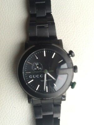 ba5a8a4f632 GUCCI G CHRONO Stainless Steel Quartz immaculate. 101M 11387643 ...
