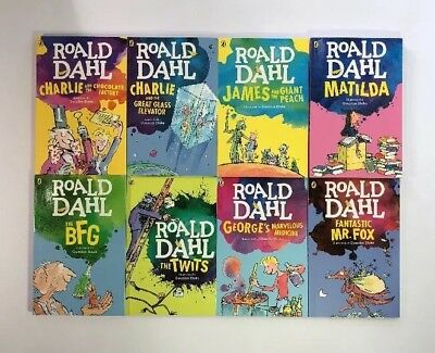 Roald Dahl Collection Kids Books Box Set Charlie and the Chocolate Factory Lot 8