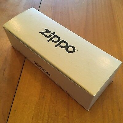 Zippo Manufacturing Company White Empty STORAGE BOX For Boxed Lighters