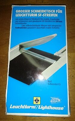 Lighthouse Guillotine Cutter For Stamp Mounts Up To 180 mm, NEW