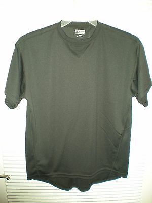 Boathouse Sports Black short sleeve shirt young mens size XS New