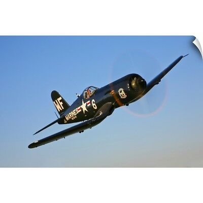 Wall Decal entitled A Vought F4U-5N Corsair aircraft of the Flying Nightmares