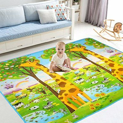 Baby Play Mat child activity foam floor soft kid eductaional toy(Giraffe)