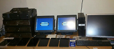 MICROS, ws5a terminals,6 server Tablets,server.drawers,printers,software,license