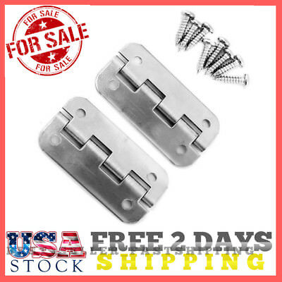 76891 Igloo Cooler Hinges Set of 3 Fits 25-165 Qt Coolers Stainless Steel