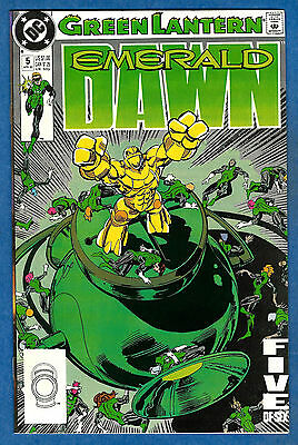 GREEN LANTERN EMERALD DAWN # 5 - DC 1990 (vf-)
