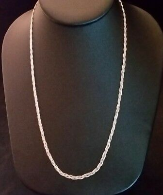ITALY 925 Sterling Silver NIAGARA Chain Necklace//Bracelet-Gunfinish-3.2 mm//4 mm