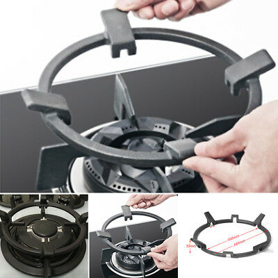 2018 Universal Cast Iron Wok Support/Stand for Burners fits Gas Hob Cooker Home❤