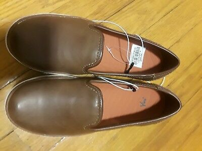 4a15cc70a607 Yuu Valance Womens Slip-On Shoes size 6 brown color