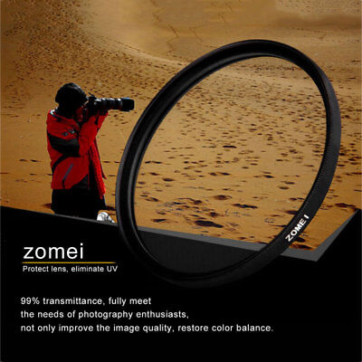 ZOMEI Ultra Slim UV Filter Ultra-Violet Lens Protector For Canon Nikon Camera VF
