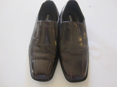 f64b0b5ee03 ALFANI BROWN LEATHER Slip On Loafer - Men s Size 8.5 M -  30.00 ...