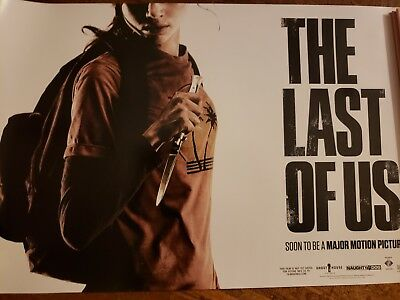 The Last of Us SDCC San Diego Comic Con poster Limited Edition 7000 Rare