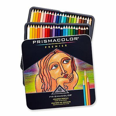 PrismaColor Premier Soft Core 48 Coloured Pencils prismacolour Aussie Seller