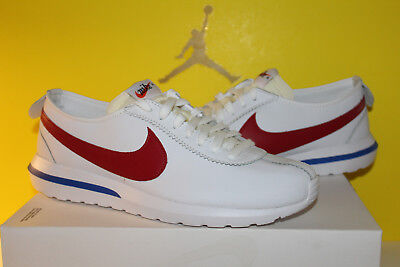 014418f956c57 Nike Roshe Cortez NM SP Forrest Gump Men Size 10.5 White Red Game Royal  806952