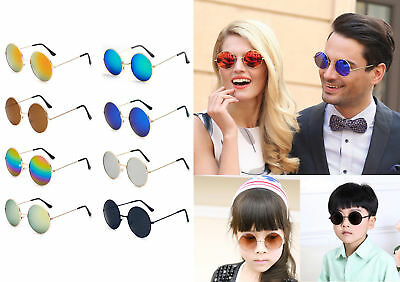 68c56c6543495 Retro Vintage Kids Baby Boys Girl Children Round Glasses Eyewear Sunglasses  New