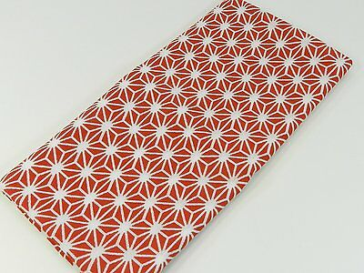 Japanese traditional towel TENUGUI  ASANOHA RED NEW COTTON MADE IN JAPAN