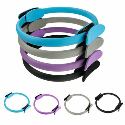 Dual Grip Pilates Ring Magic Circle Muscles Body Exercise Yoga Fitness Product D