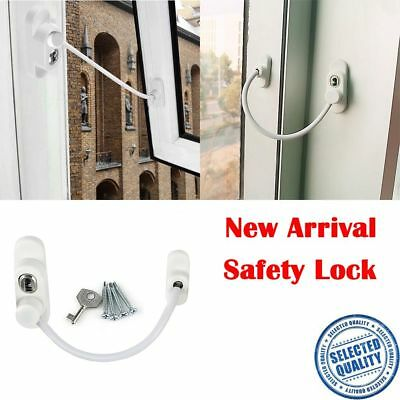 Child Safety Guard Door Security Chain Catch Cable Window Wire Lock Restrictor