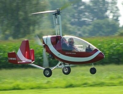 Jukka Jt-5 Plans And Information Set For Homebuild 1 Seat Closed Cabin Autogyro