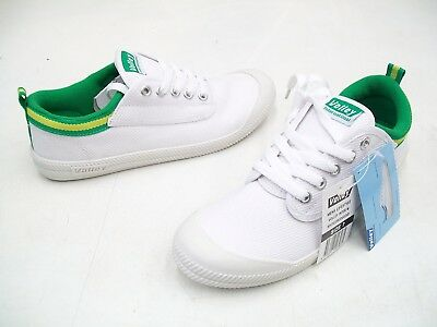 Dunlop Volleys Volley International Mens Casual Trainers Shoes White Green Gold