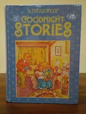 A Treasury Of Goodnight Stories By Marshall Cavendish *Rare Book*