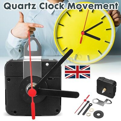 DIY Quartz Clock Movement Mechanism Hands Module + Battery Life UK