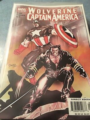 Wolverine And Captain America NM Complete Set Issues 1-4 Great Story