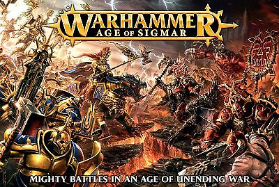 The Age Of Sigmar Core Box - Warhammer Fantasy - Games Workshop - Sent 1St Class
