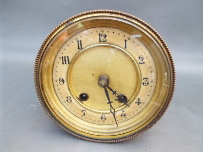 Vintage HAC clock movement bezel dial & hands - repair or spares