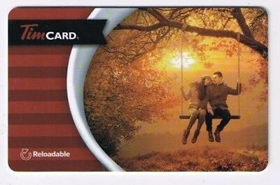 Tim Horton's 2015 Timcard Gift Card Autumn Love On Swing No Value