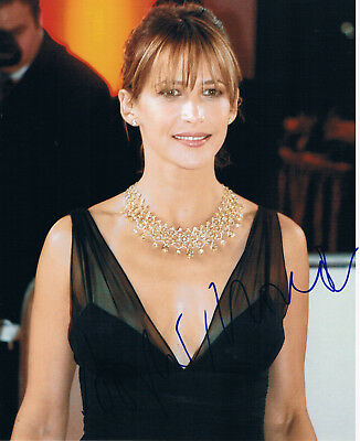 """Sophie Marceau 1966- genuine autograph IN PERSON signed 8""""x10"""" photo"""