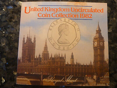 1982 Mint Set of Great Britain United Kingdom by The Royal Mint