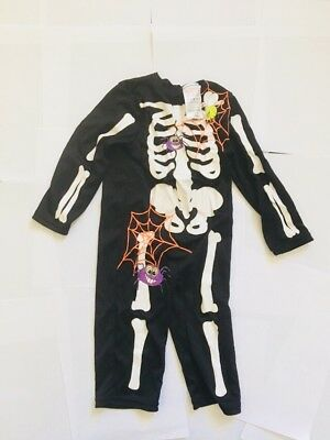 12-18 Months Skeleton Halloween Fancy Dress Outfit