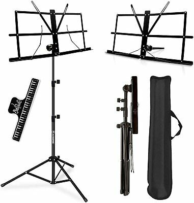 Music Stand, KASONIC Professional Collapsible Orchestra Portable Set